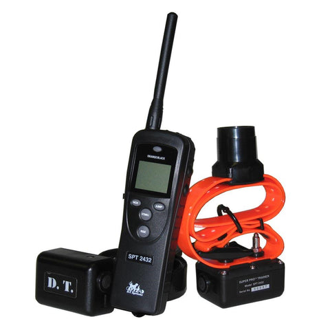 D.T. Systems Super Pro e-Lite 2 Dog 3.2 Mile Remote Trainer with Beeper