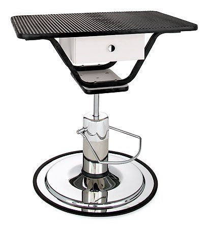 Petlift Classic Hydraulic Grooming Table with Rectangular Shaped Top