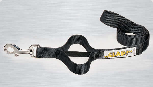 MIM Clap Training Leash Black
