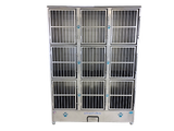 Groomers Best 9 Unit Cage Bank