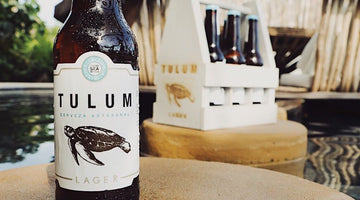 Tulum beer, a unique experience with a taste of the sea