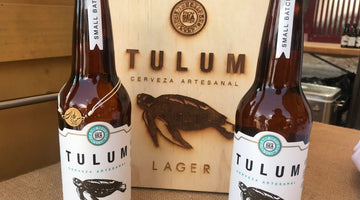 Tulum beer present at the Cultural Gastronomic Festival
