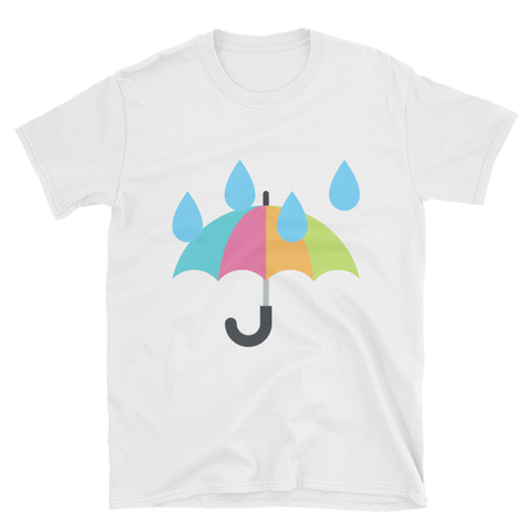 Rain Umbrella Emoji T-Shirt