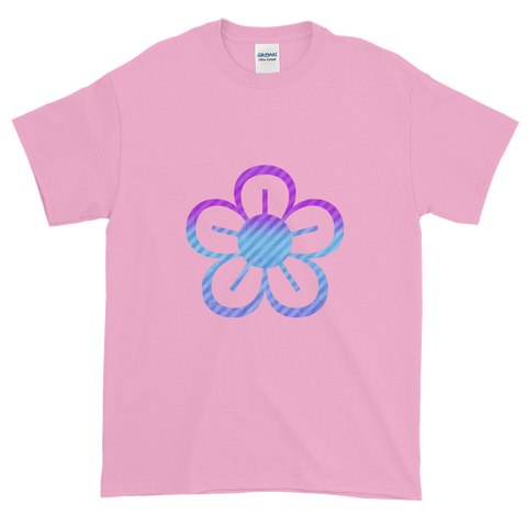Mum's Pink & Blue Flower T-Shirt