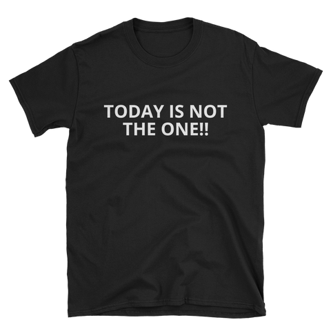 Today Is Not The One T-Shirt