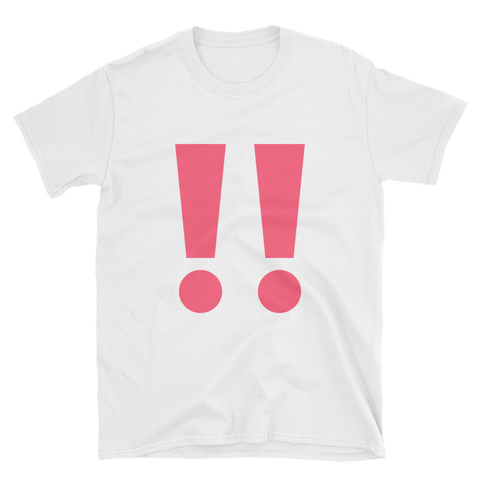 Double Exclamation Point Emoji T-Shirt