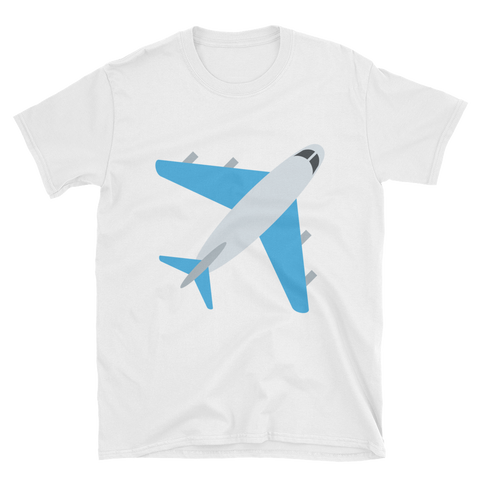 Holiday Plane Emoji T-Shirt