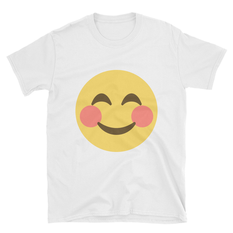 Blush Emoji T-Shirt