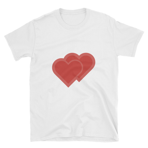 Double Heart Emoji T-Shirt