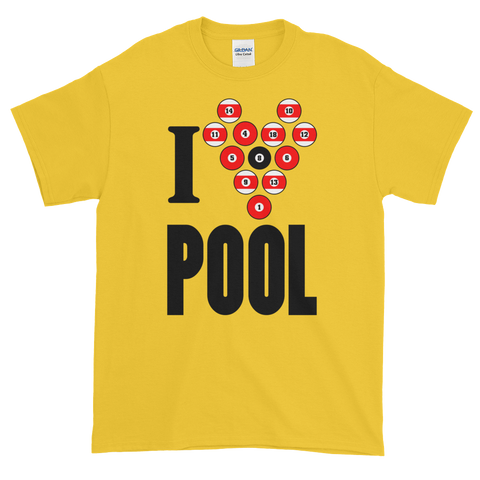 I Love Pool T-Shirt