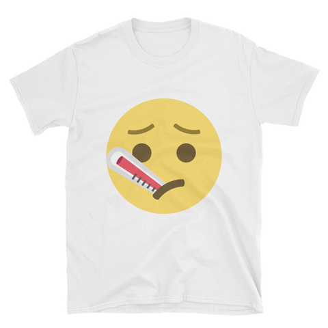 Poorly Temperature Ill Emoji T-Shirt