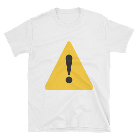 Warning Emoji T-Shirt