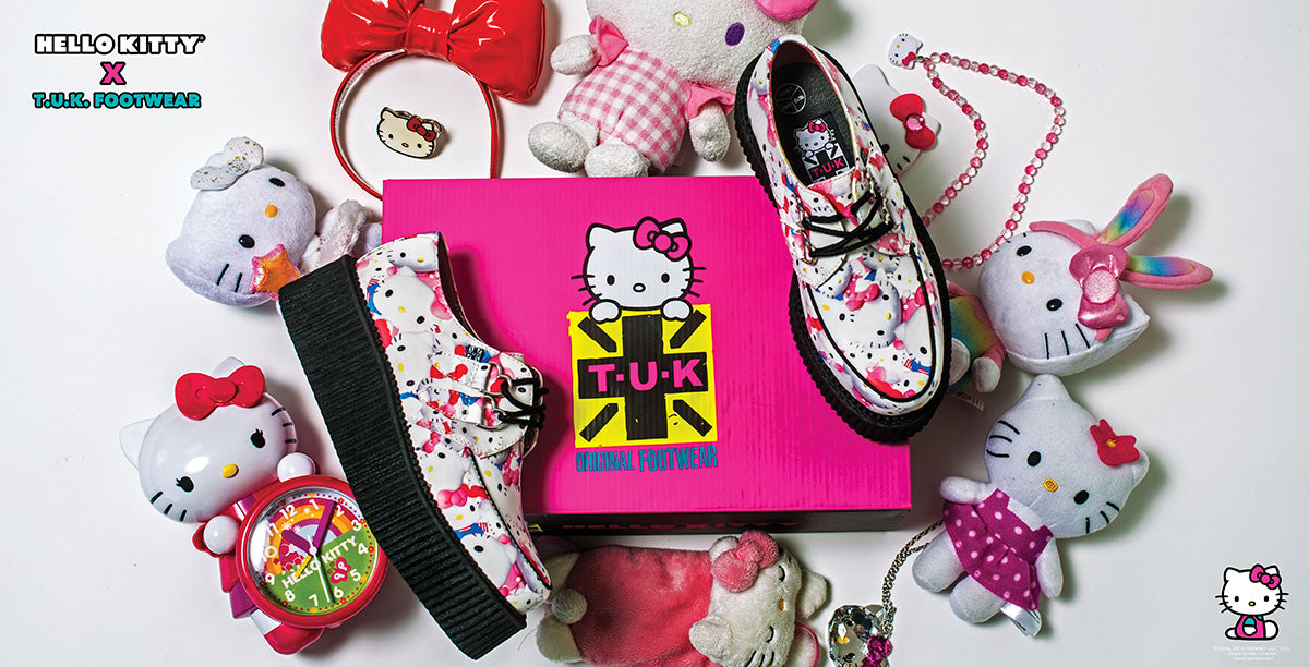 HELLO KITTY x T.U.K. 1