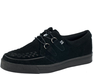 Suede Creeper Sneakers - T.U.K.