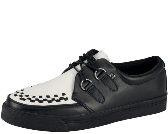 Leather 2-Ring Creepers - T.U.K.
