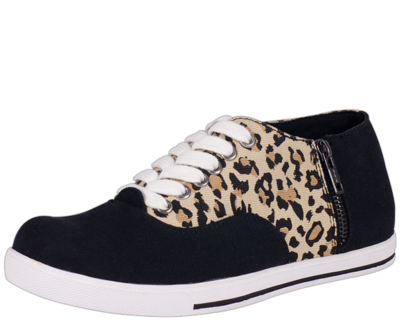 Leopard Sneakers - Women Shoes - *FINAL SALE/NON-RETURNABLE