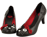Polka dot kitty heel - *FINAL SALE/non-returnable