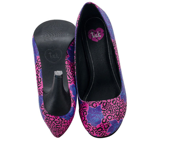 Leopard Garden Heels - *FINAL SALE/non-returnable