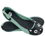 Mint Suede Kitty Flat - *FINAL SALE/non-returnable