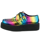 Vegan Rainbow Metallic Viva Mondo Creepers