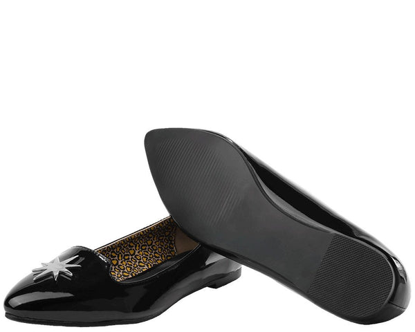 Star Patent Flat *ALL ITEMS FINAL SALE/NON-RETURNABLE*