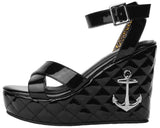 Anchor Sandal Wedge - T.U.K.
