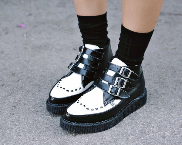 Two-toned Creeper Boots