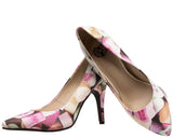Candy Hearts Pointed Heel - T.U.K.