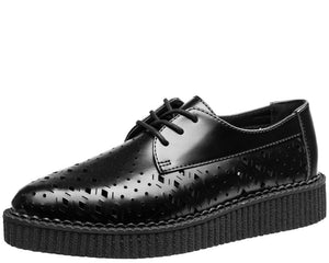 Mixed Perforation Tie Pointed Creeper - T.U.K.