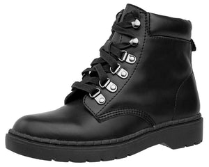 Black Ealing Work Boot - T.U.K.
