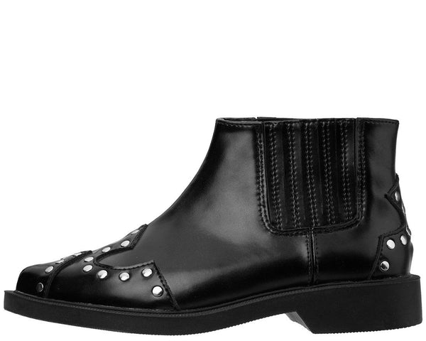 Black Studded Jam Boot