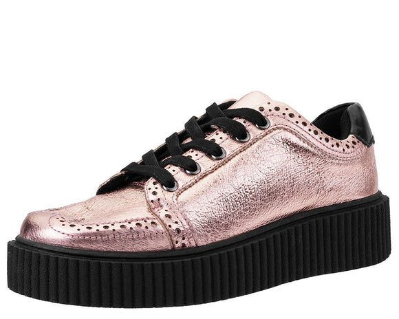 Rose Gold Wingtip Casbah Creeper
