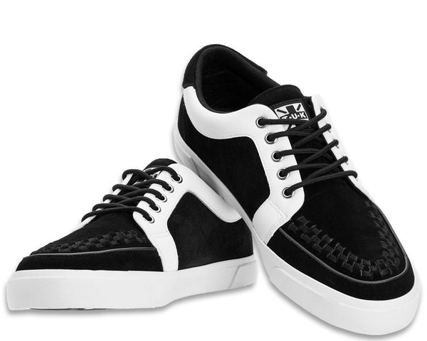 Black & White No-Ring VLK Sneaker
