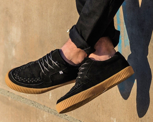 Black Suede EZC Shoes