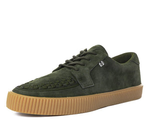 Olive Suede EZC Shoes
