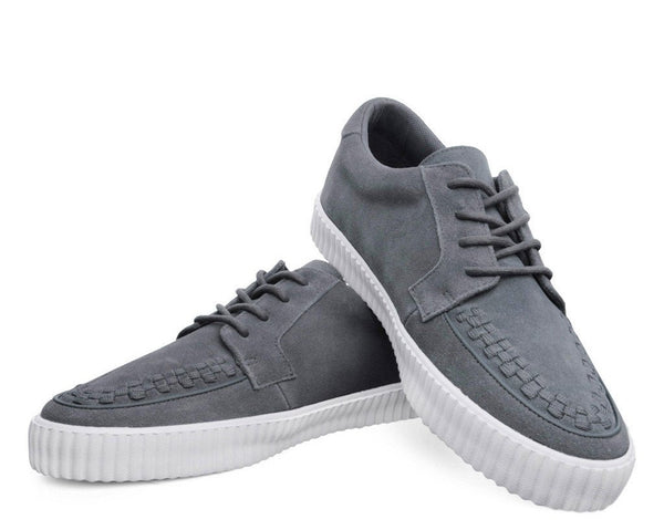 Grey Suede EZC Shoes