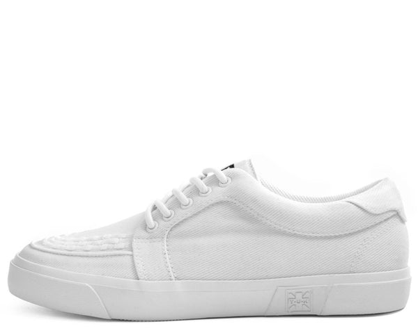 White Canvas VLK Sneaker