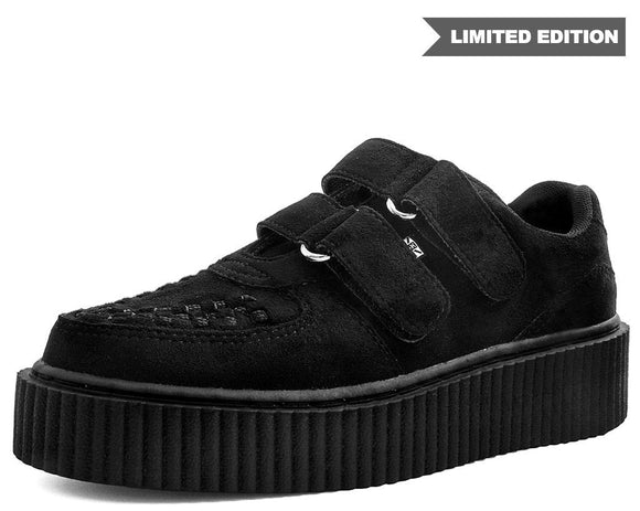 Black Double Velcro Casbah Creeper