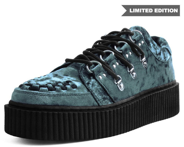 Teal Velvet Multi-Lace Casbah Creeper