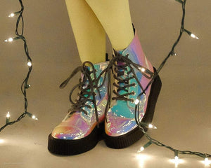 Ice Iridescent Casbah Boot