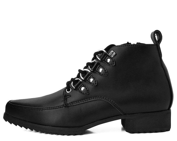 Black TUKskin™ Pointed Shark Tooth Boot