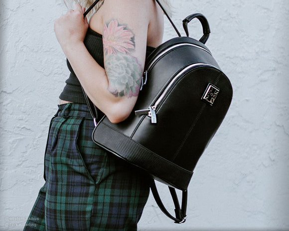 Black TUKskin™ Backpack - *FINAL SALE/NON-RETURNABLE