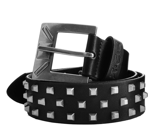 Black Studded 40mm Belt - *FINAL SALE/NON-RETURNABLE