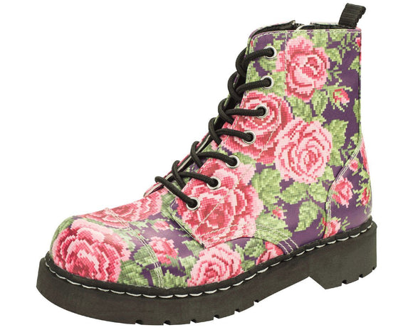 Digital Rose Boots - T.U.K.
