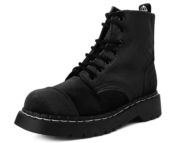 Black Velvet Anarchic Boot