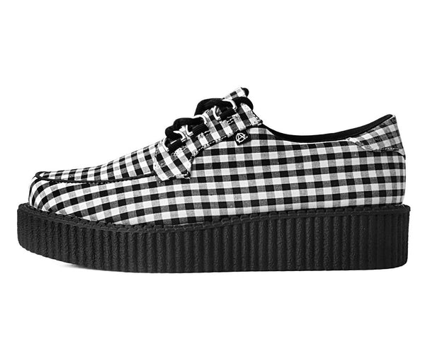 Black & White Gingham Anarchic 3-Ring Creeper