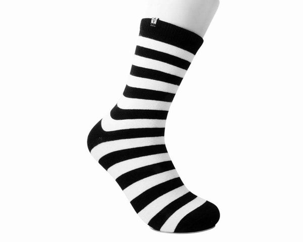 Black & White Stripe T.U.K. Women's Sock