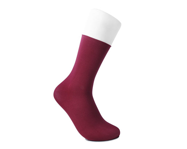 Red Spandex Crew Sock