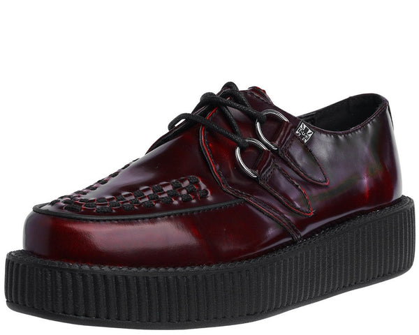 Burgundy Rub Off Creeper - T.U.K.