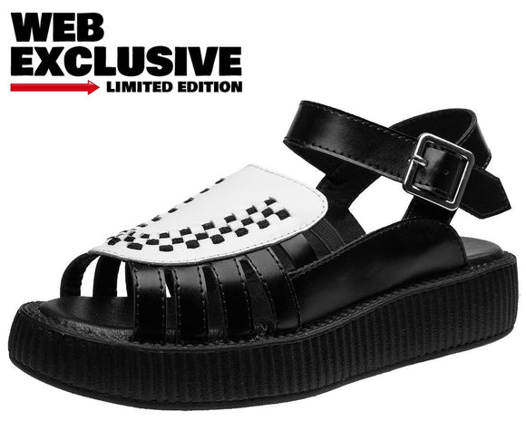 Two Tone Creeper Sandal - T.U.K.
